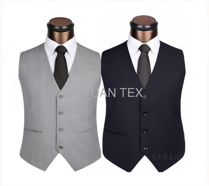 Personalized Restaurant Work Wear Fashion Sleeveless Uniform Design Vest For Waiter