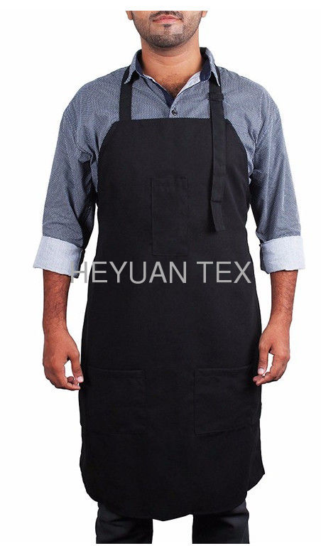 Waterproof Custom Design Restaurant Work Wear Cooking Aprons With Pockets