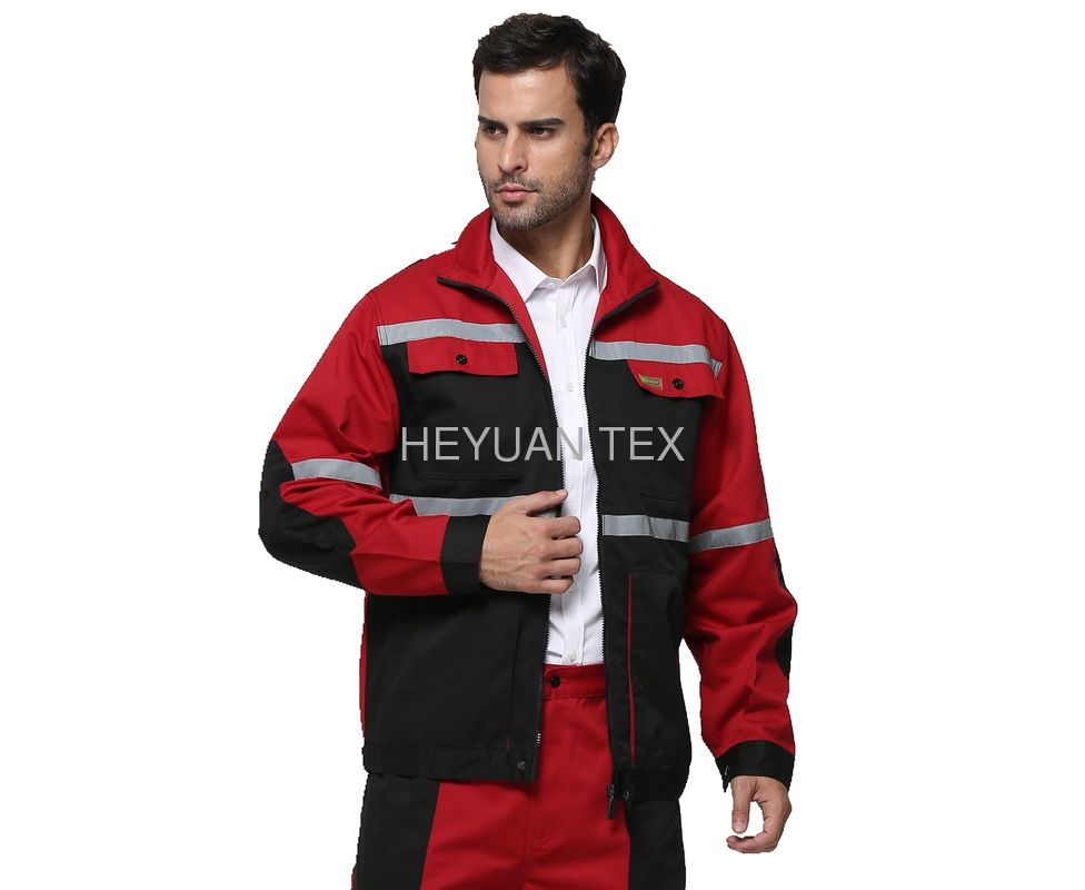 Fashion Mens Waterproof Work Jacket Hardwearing For Industry / Construction